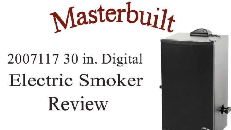 Masterbuilt 20071117 30-Inch Electric Smoker